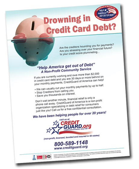 Get Out Of Debt Help America Out Of Debt Cga Outreach Creditguard