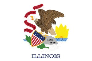 U.S. state of Illinois flag