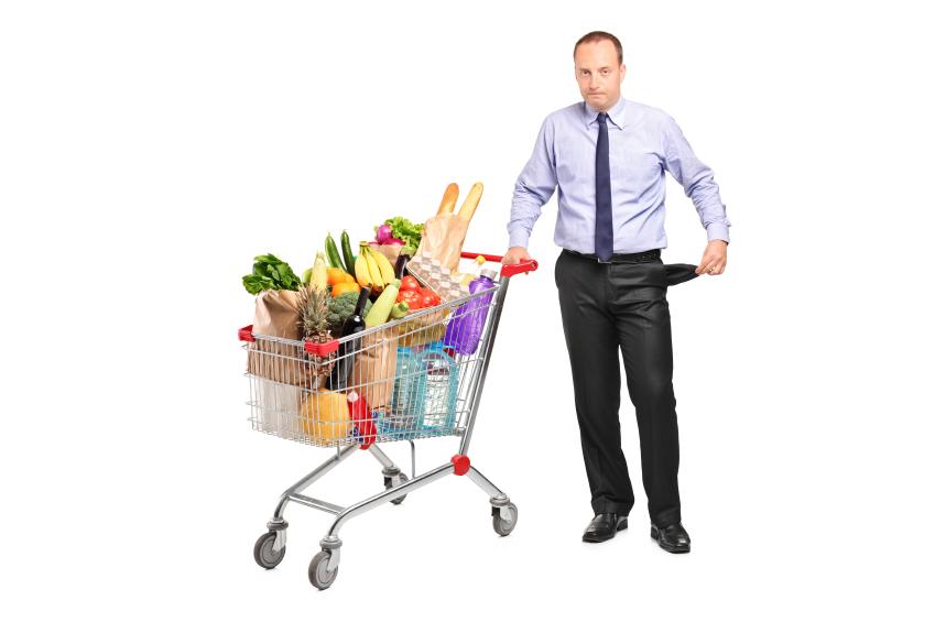 buying groceries in bulk