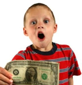 how a child makes more money than you