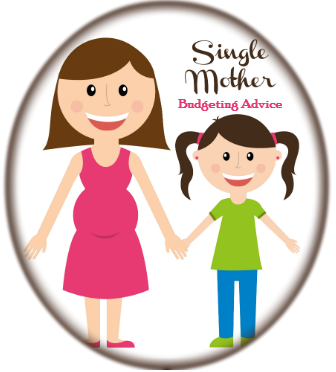 single mother budgeting advice badge
