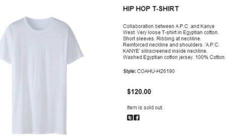 the most expensive plain white tee shirt