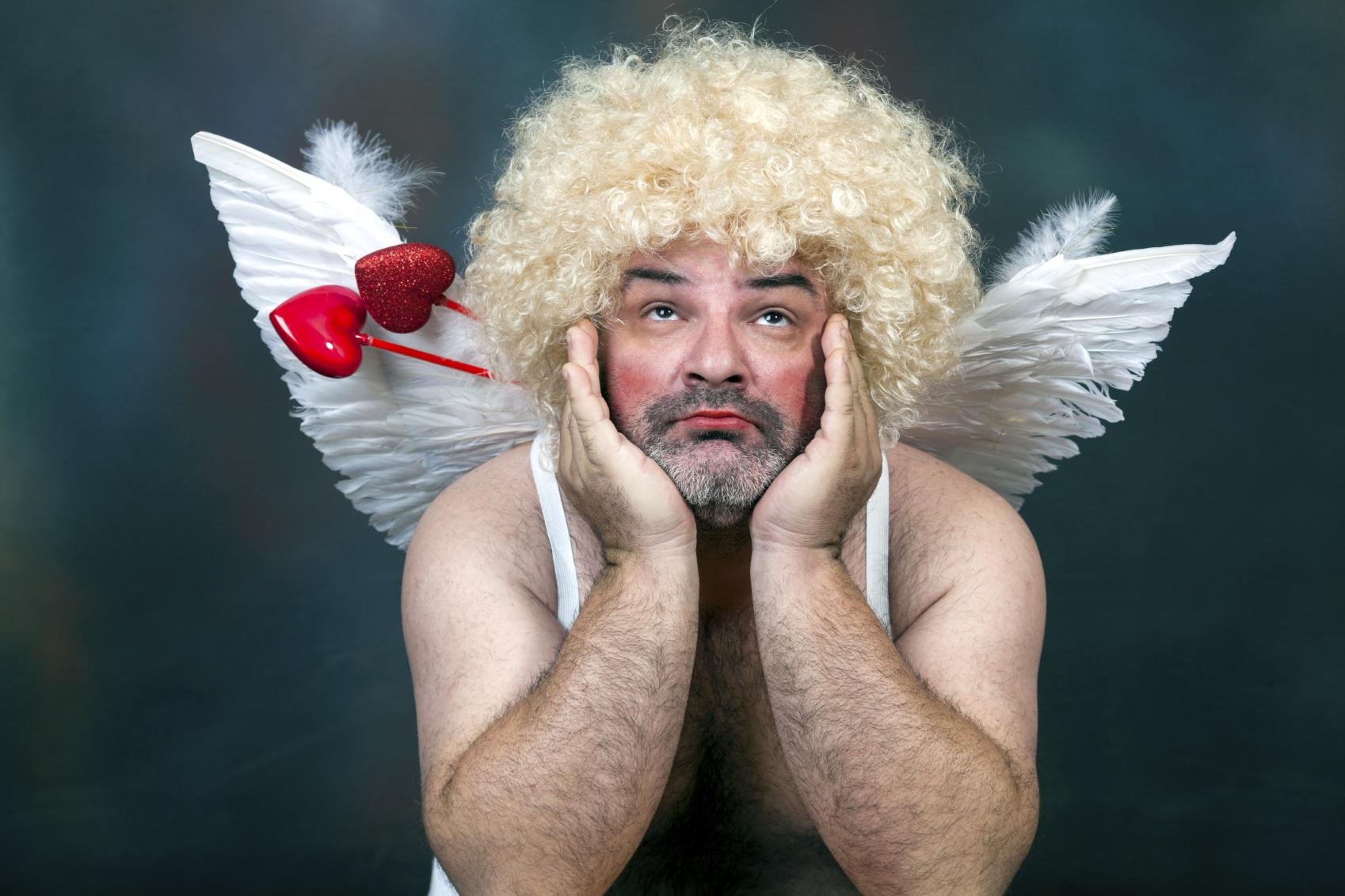 Valentines Day - Mature Cupid
