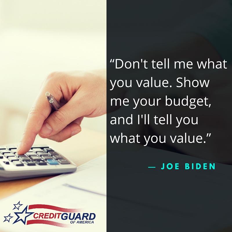 Finance Quote by Joe Biden