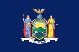 U.S. state of new york flag